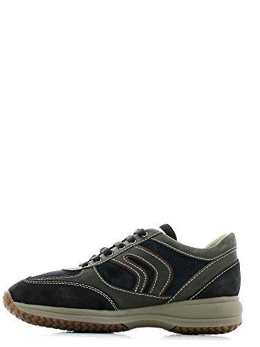 Geox , Chaussures de ville à lacets pour fille Multicolore - Navy/Bordeaux