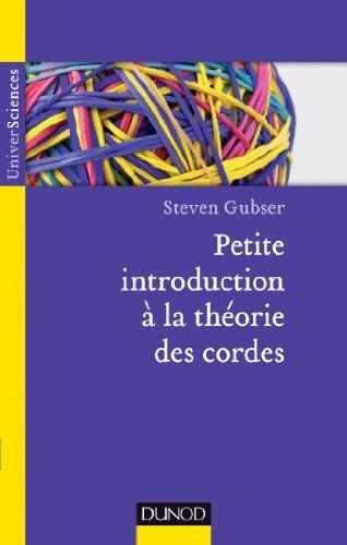 Petite intro à la théorie des cordes (UniverSciences) par Steven S. Gubser