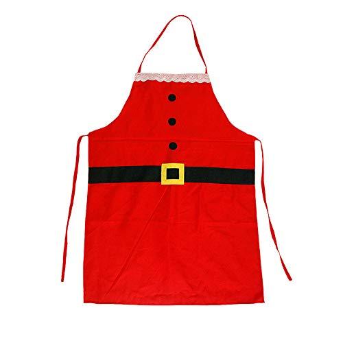 Jorzer 1pc Navidad De La Vendimia Delantales De Algodón