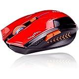 Ratón Gaming inalámbrico KLIM Azzor 2400 DPI – Alta precisión – Clics silenciosos