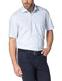 eterna Kurzarm Hemd Modern Fit Popeline Unifarben