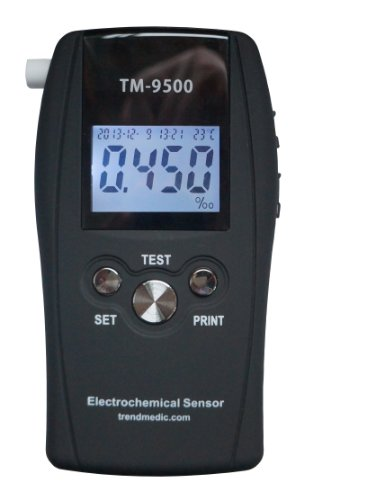 Alkoholtester Trendmedic TM-9500 Professional mit elektrochemischen Sensor