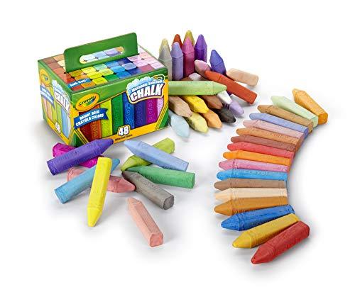Crayola 51-2048-E-000 - Straßenkreide, 48