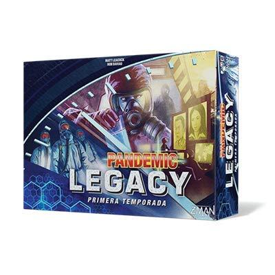 Z-man Games España- Pandemic Legacy Primera Temporada (ZM7170BES)