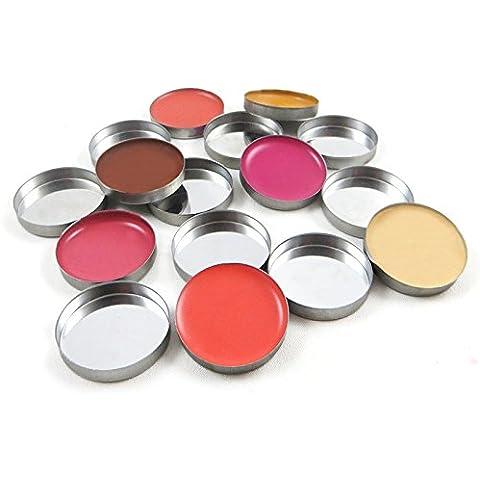 Z Palette 10 vaschette di metallo circolari