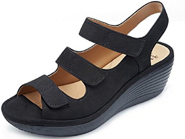 119b1f9e8e2 Clarks B072ZZTXG4 UK Reedly Juno Wedge Shoe nhta-29628 With Soft Cushion -  Black - UK 5 E B072ZZTXG4 Parent db94d08. Search. Menu