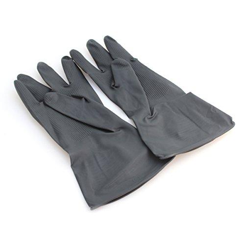 Extra Grip Gummi Handschuhe Paar–Ideal bei Allgemeinen Haushalt Arbeit (Heavy-duty-haushalts-handschuhe)