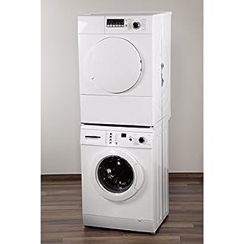 xavax zwischenbaurahmen offene front f r waschmaschine und trockner 55 68 cm 1. Black Bedroom Furniture Sets. Home Design Ideas