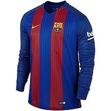 a55b3fc860 Nike FC Barcelona M LS Hm Stadium JSY - Camiseta de Manga Larga para Hombre