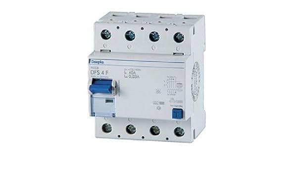 Doepke FI-Schalter DFS4 040-4/0,03-F: Amazon.de: Elektronik