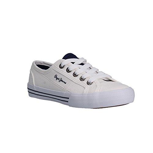 Pepe Jeans Shoes Zapatillas, schwarz/silberfarben, 39