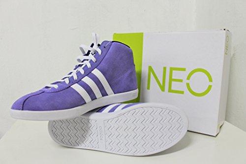 Adidas neo VL Cour Mid Femme - Pourple/White