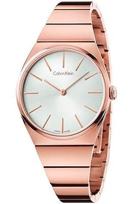 Calvin Klein Reloj Analógico para Mujer de Cuarzo con Correa en Acero Inoxidable K6C2X646 de Calvin Klein