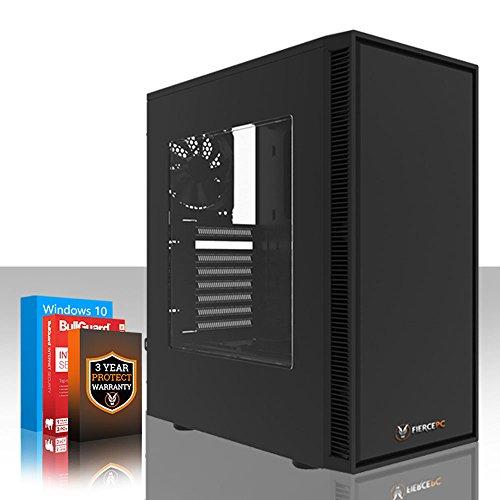Fierce Storm Gaming PC - Schnell 4.1GHz Octa-Core AMD Ryzen 7 2700, 1TB Festplatte, 8GB 2666MHz, NVIDIA GeForce GTX 1050 2GB, Windows 10 installiert 374104