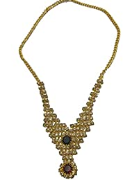Jyesh Jewel Gold Color Necklace Set For Girls And Women(NK-0032)