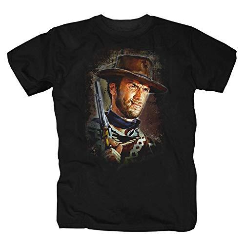 Clint Eastwood Camiseta negro L