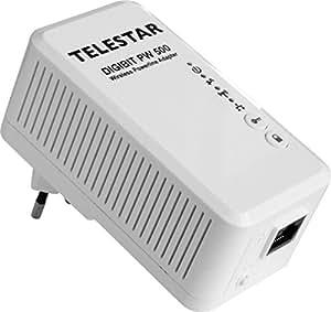 Telestar Digibit PW 500 Powerline W-LAN Netzwerkadapter