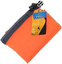 70L anaranjada brillante del bolso seco impermeable para el barco flotante Kayak