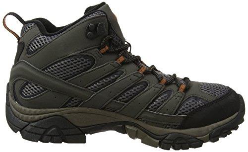 Merrell-Mens-Moab-2-Mid-GTX-High-Rise-Hiking-High-Rise-Hiking-Boots-Brown-Beluga-9-EU-435