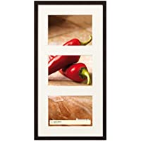 walther design BP338B Peppers Bilderrahmen, Holz, schwarz, 3X 13x18 cm