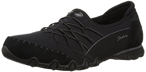 Skechers Modern Comfort Women's Women's Bikers Digits-Double Bungee Closure Slip-On-Relaxed Fit Sneaker