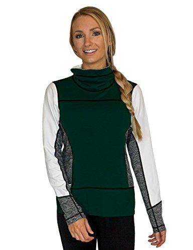 woolx Damen Merino Wolle sweatshirt-athletic Top-Stay Warm-Look Amazing, X560-917 WXWTXSM -