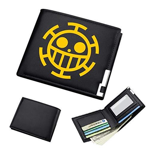 PZgfg Anime Purse Wallet One Piece Billetera Hombre