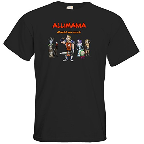 getshirts - Stevinho & Allimania - T-Shirt - Allimania Classic - Horst Black