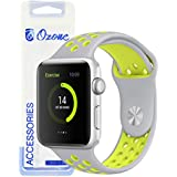 Ozone Silicone Strap For Apple Watch 40mm Series 4 / 38mm Series 3/2 / 1 Replacement Wristband - Green