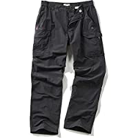 Craghoppers Mens NosiLife Cargo Travel Trousers Black