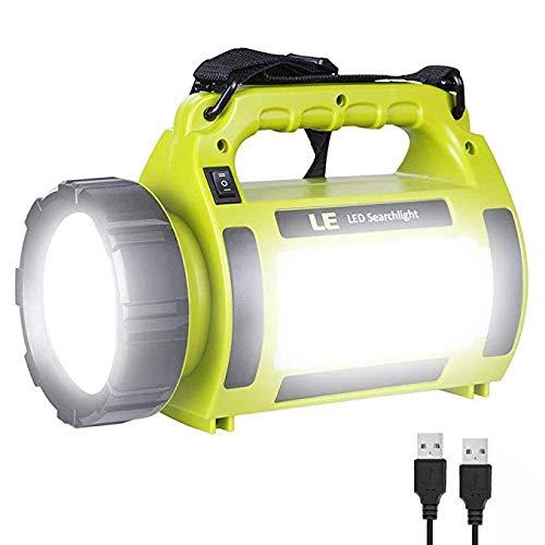MFHSB LED Camping Laterne, 1000LM, 5 Lichtmodi, 3600Mah Power Bank, IPX4 wasserdicht, perfekte Laterne Taschenlampe für Hurrikan-Notfall, Wandern, Zuhause und mehr - T6.5-glühbirne