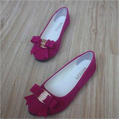 Confortevole ed elegante piatto scarpe scarpe donna tacco piatto Round Toe Appartamenti Casual più colori Availably fuchsia