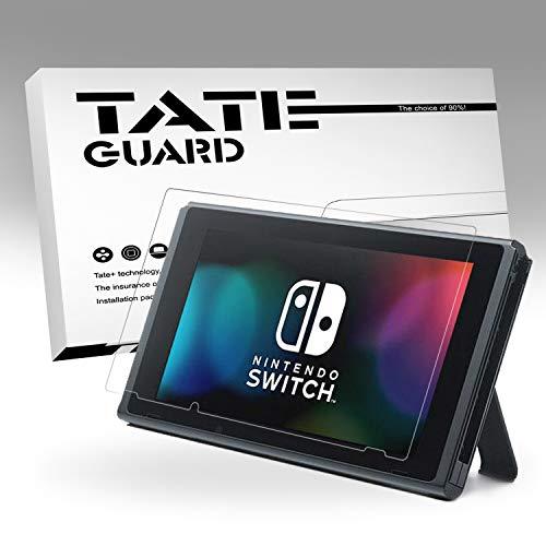 TATE GUARD kompatibel Nintendo Switch Display Schutzfolie, Matt, 3 x Bildschirm Schutz, Vollständige Abdeckung, 4H Härtegrad, Kratzfest, 100{e090f78534239a3ac2717f995856141d27d5c4930e4d1de89e6d6360e7c645b2} Transparenz, Einfaches Anbringen, Blasenfrei