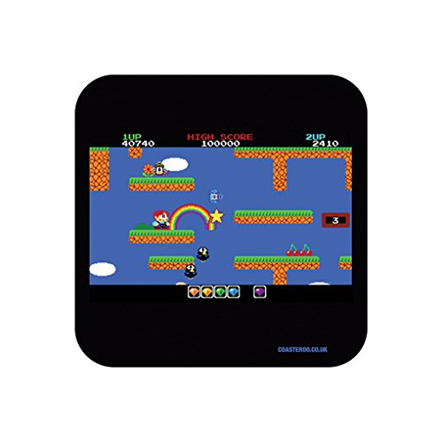 Rainbow Islands 80s Gamer Coaster Gift x 1