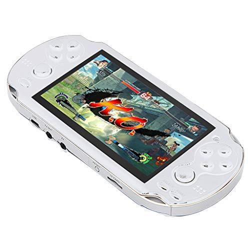 TriLance Retro Classic Spielekonsole Handheld Portable 800 Eingebaute 4,3-Zoll-Spiele, PSP Spielekonsole Kleines Handheld Pocket Spiel Overlord 8G Nostalgic Spielekonsole Double Rocker Spielekonsole - Spiel Psp Viel