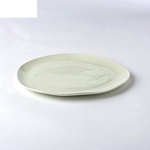 Creative small flat plate/dish dish/ceramics,dessert plate/dumplings plate/snack dishes-B