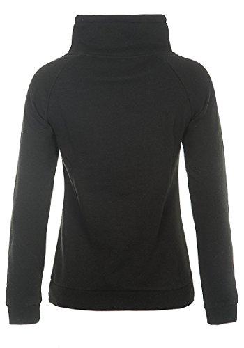 DESIRES DerbyCrossTube Damen Sweatshirt Pullover Sweater aus hochwertiger Baumwollmischung Black