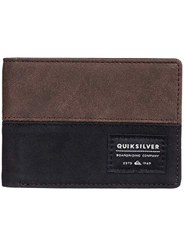 ab7a873d72 Quiksilver Native Country, Wallets Uomo, Chocolate Brown, M