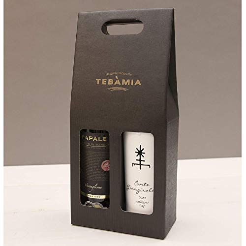 Confezione Vini Pugliesi | BEST OF PUGLIA| Confezione Regalo Tradizionale | Primitivo e Negroamaro