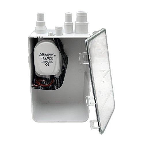 ECO-WORTHY 12V 750GPH Pompa di sentina Coppa dell' olio doccia box 2.5Amp 3/4