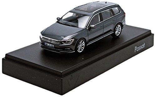 Preisvergleich Produktbild Herpa Miniaturmodelle GmbH VW Passat Variant B8 1:43 Indiumgrau Metallic