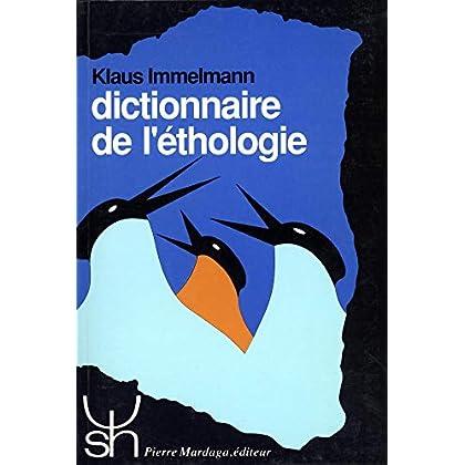 Dictionnaire de l'éthologie
