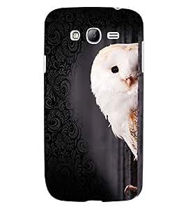 ColourCraft Cute Owl Design Back Case Cover for SAMSUNG GALAXY GRAND Z I9082Z