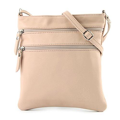 El Pago De Visa Barato modamoda de -. borsa a tracolla borsa a tracolla in pelle ital piccola in pelle T57 Rosabeige Paquete De Cuenta Regresiva Precio Barato ivZxKomLov