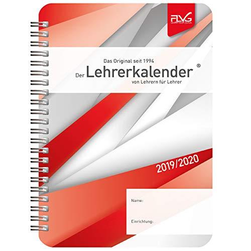 Lückert, W: A5 Lehrerkalender von Lehrern für Lehrer 2019/20 (Für Tag-planer Woche Eine)