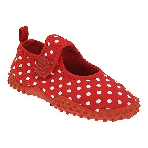 Gallux Sapatos Aqua Menina Badeschuhe Vermelho Do De Com Proteção Crianças Uv aqwrtavP