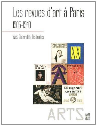 Les revues d'art  Paris (1905-1940)