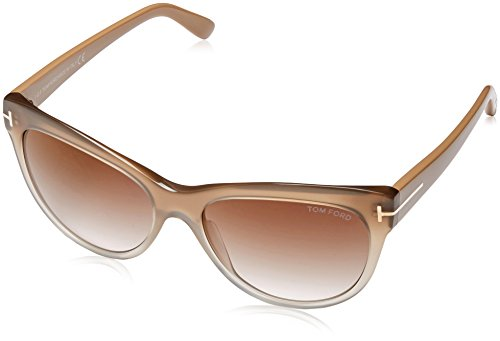 Tom Ford Sonnenbrille FT0430_PANT_59G (56 mm) Beige, 56