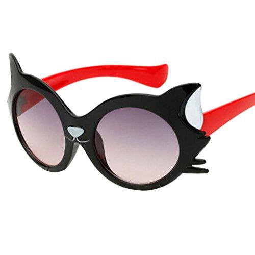 084665e4dc93 Xshuai Fashion Cute Sunglasses Baby Girls Boy Cartoon Cat UV400 Toddler  Sunglasses 100% UV protection