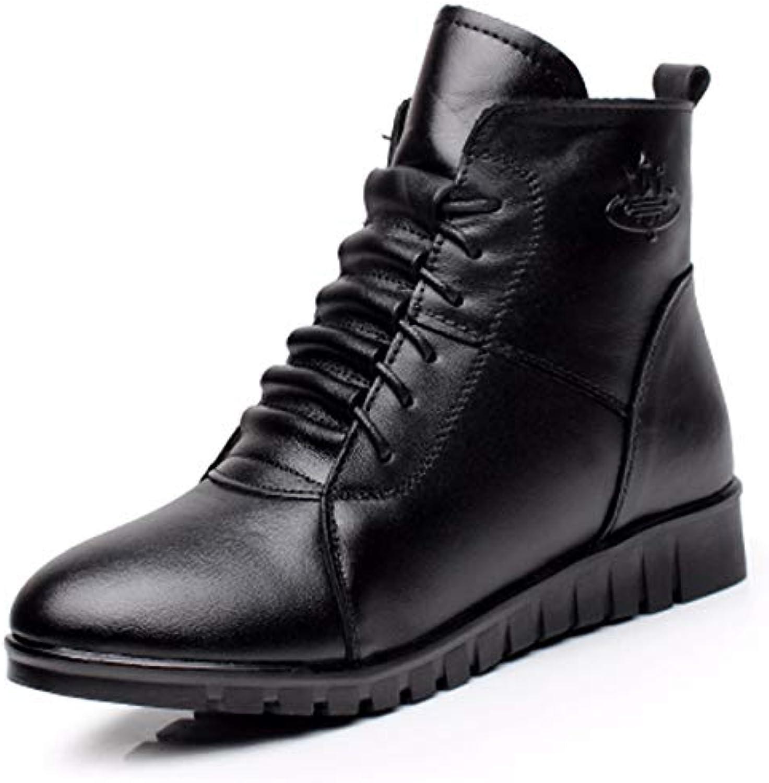 KOKQSX-cotone le le le scarpe le donne è inverno caldo comodo antiscivolo stivali di cuoio fondo piatto madre di stivali... | Promozioni speciali alla fine dell'anno  d207b3